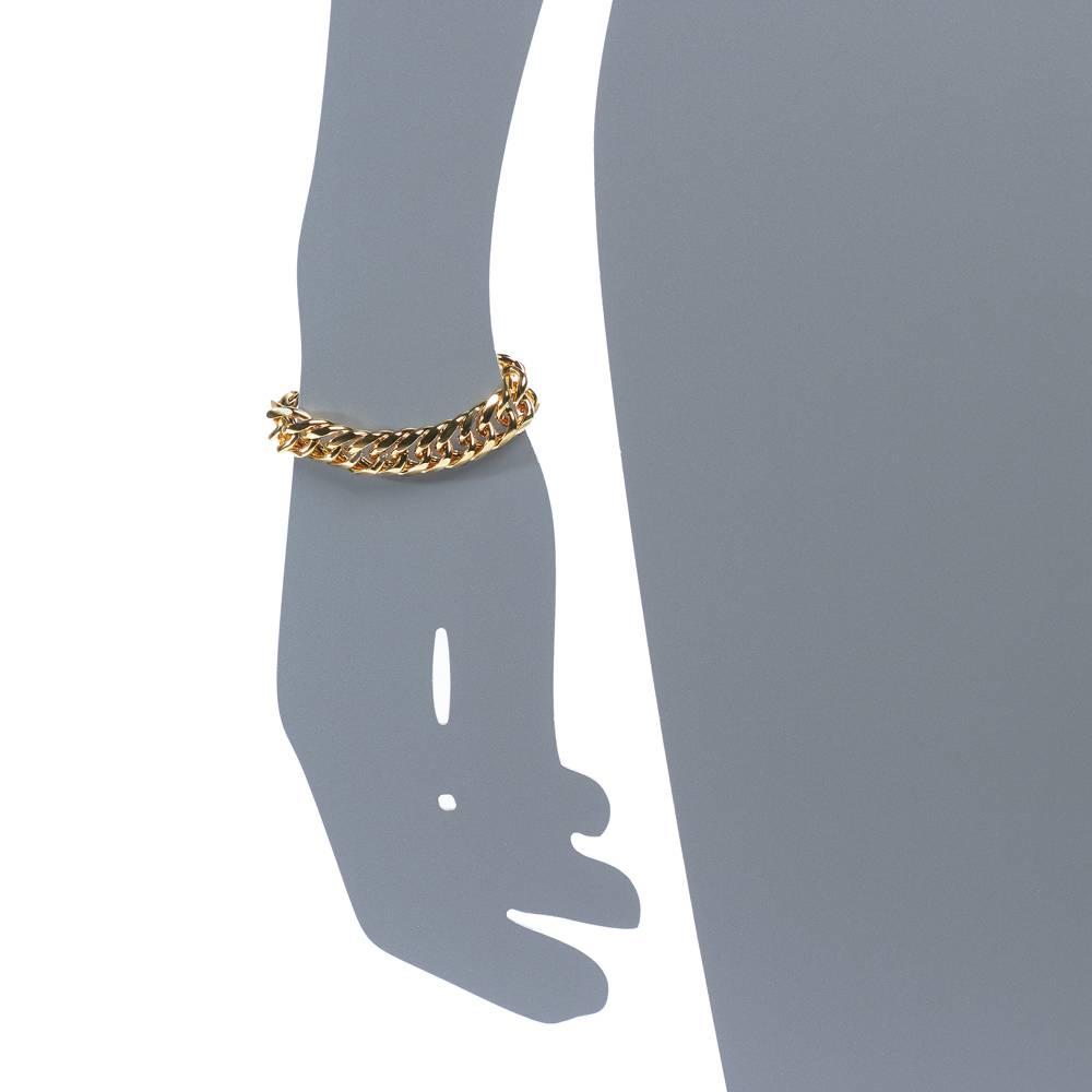 Armband Viper - Gelbgold vergoldet