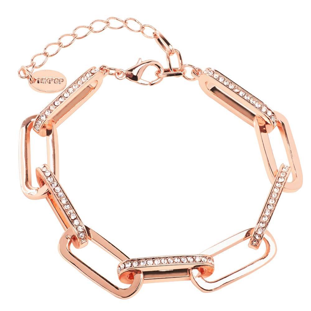Stella-Bijou Armband Safari - Rosé vergoldet