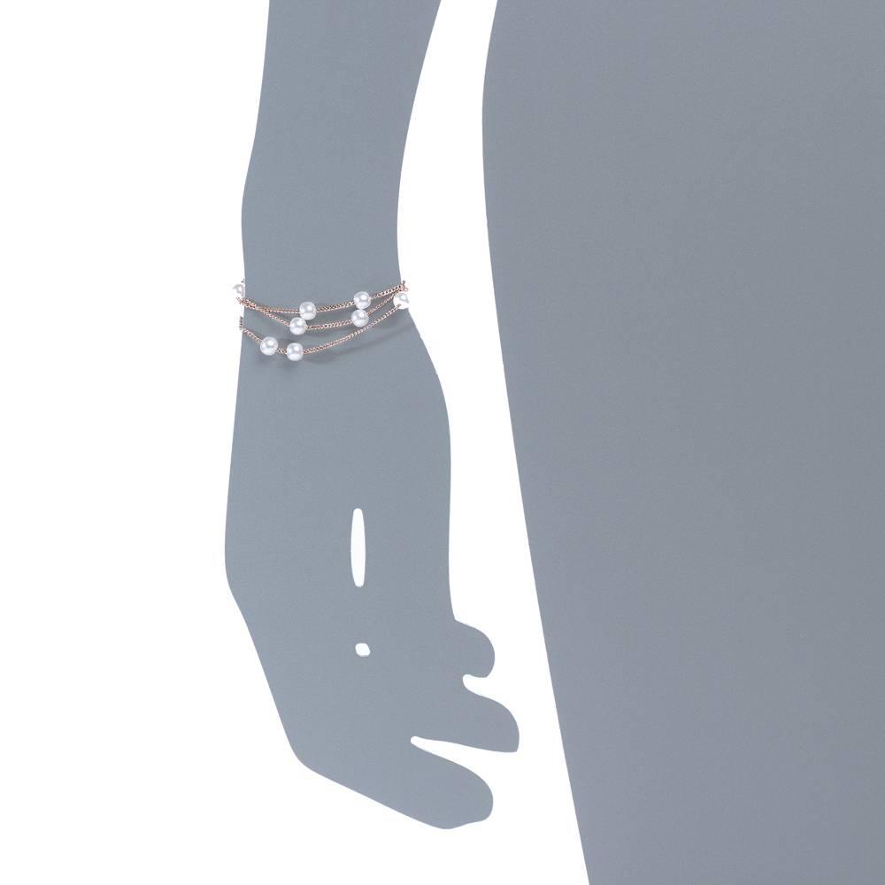 Armband Sweet Pearl - Rosé vergoldet