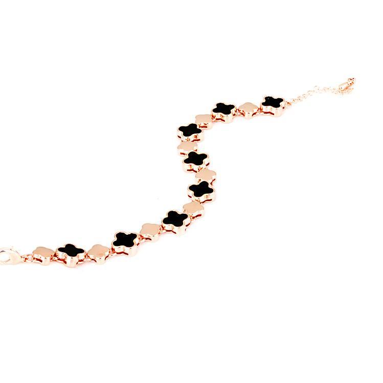 Armband Klee Vario - Rosé vergoldet