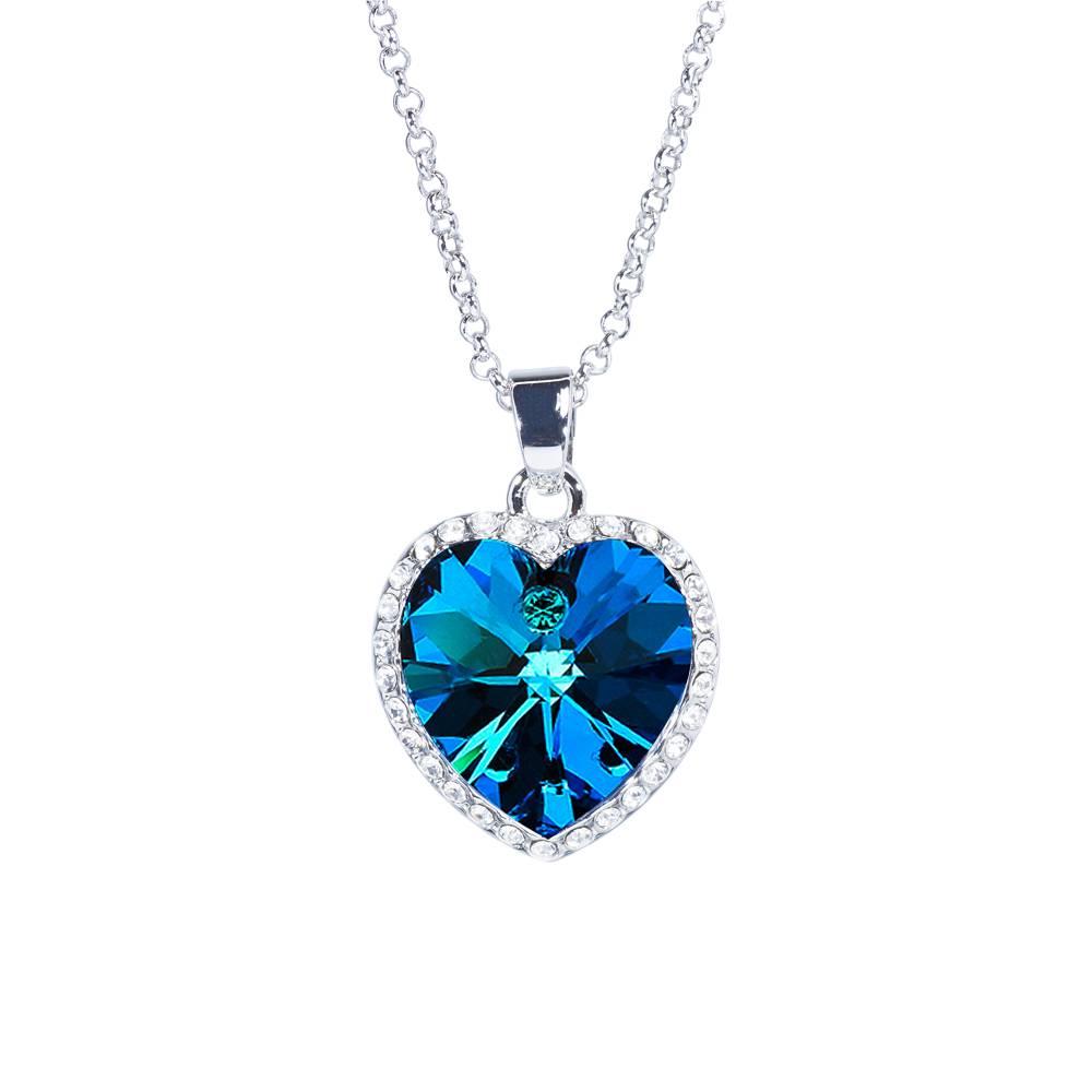 Halskette Titanic Bermuda blau