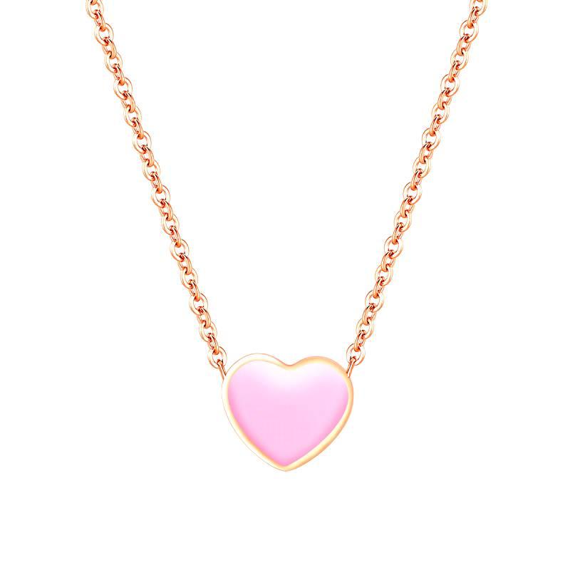 Halskette L' Amour rosa