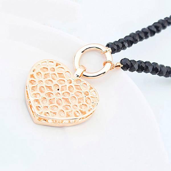 Halskette Heartbraker rot