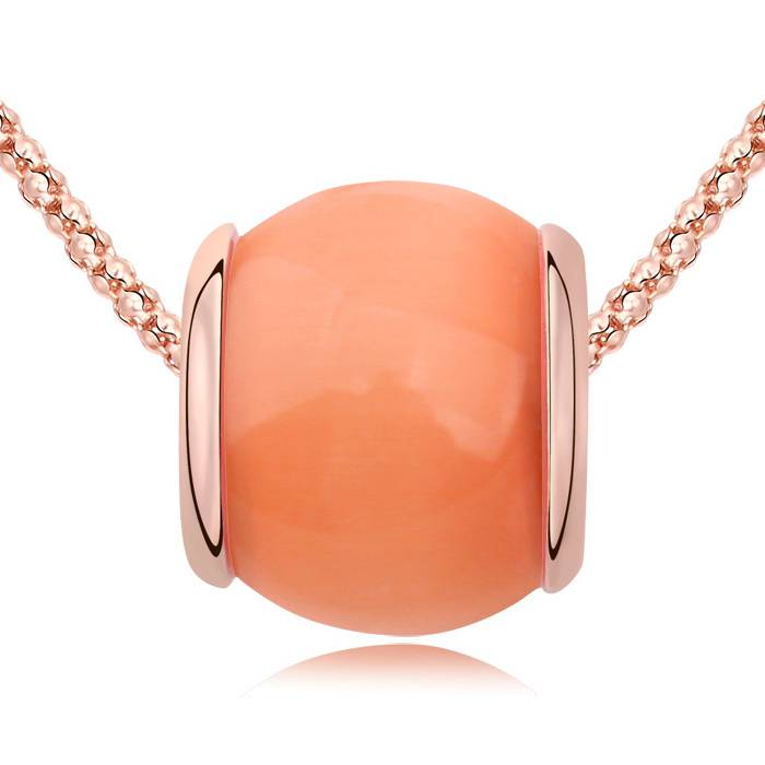 Halskette Tropical orange