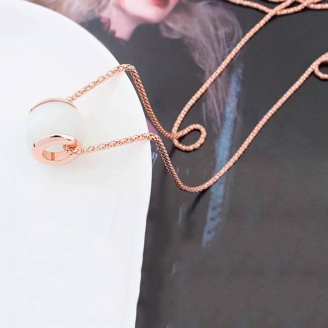 Halskette Tropical weiß