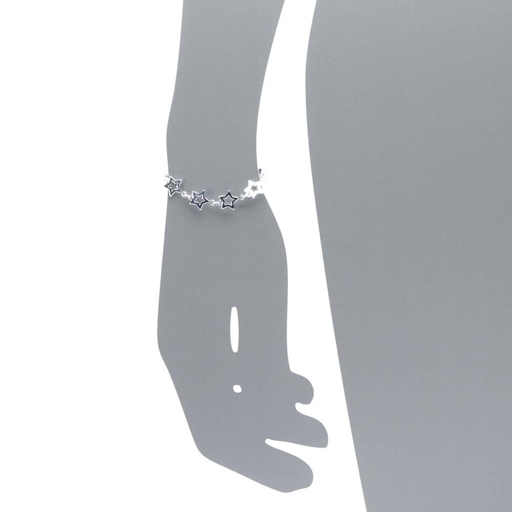 Armband Sterntaler versilbert