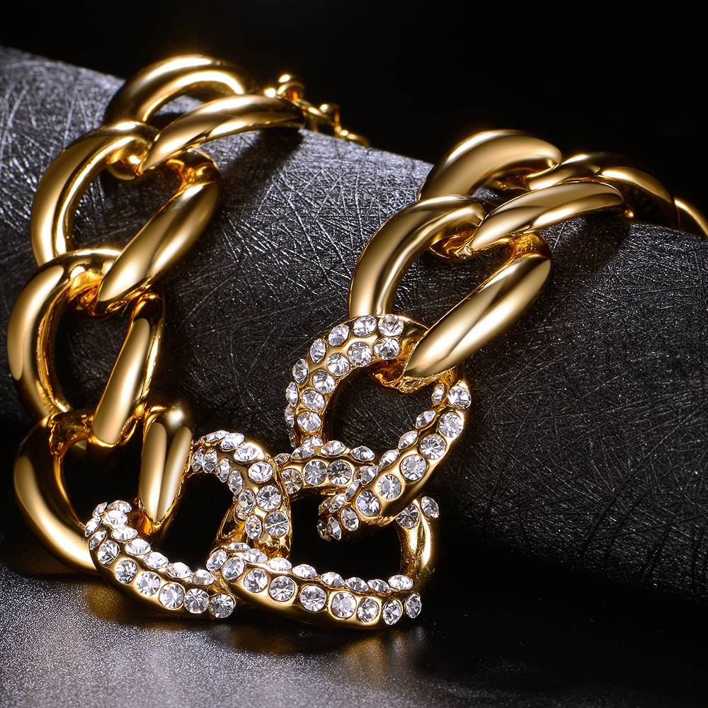 Armband Laguna - vergoldet