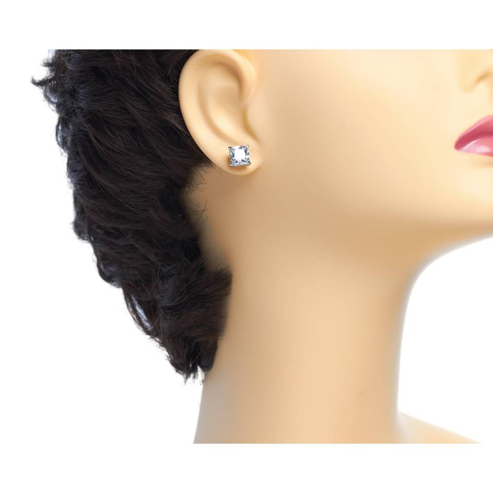 Ohrring Roxy weiß