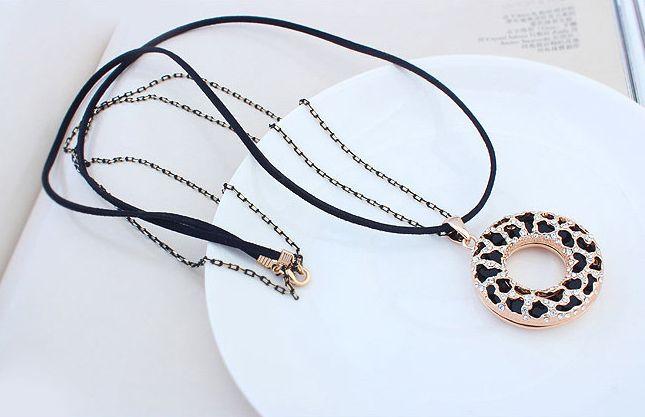 Halskette Poseidon - schwarz
