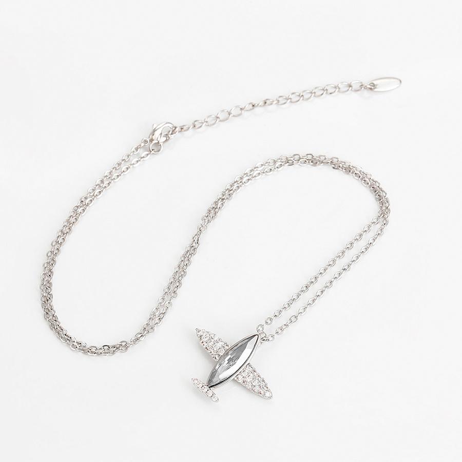 Halskette Volare - weiß