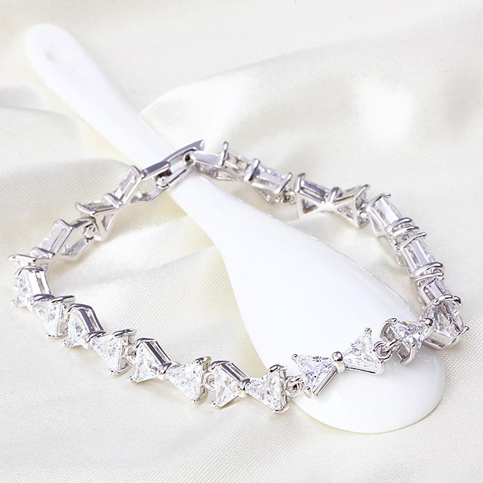 Armband Farfalla - weiß