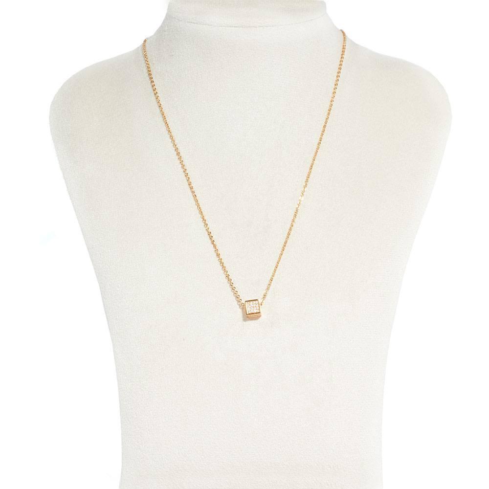 Halskette Cube - gold