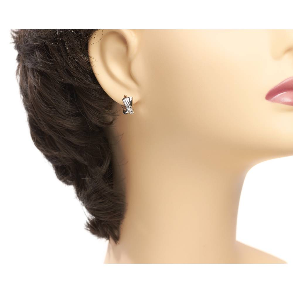 Ohrringe Tosca - weiß