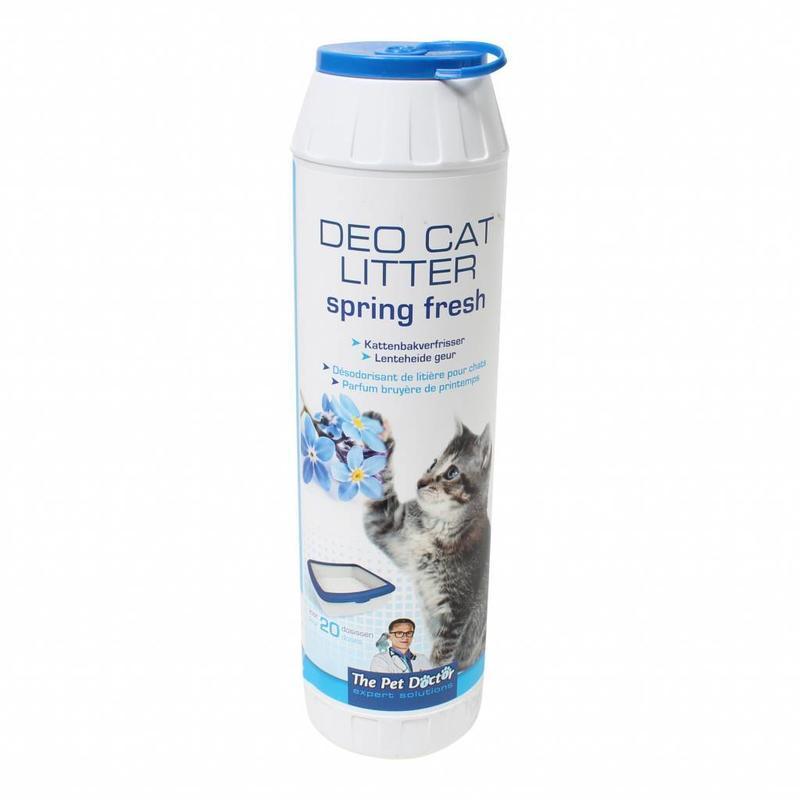 BSI Deo cat litter spring fresh 750 gram