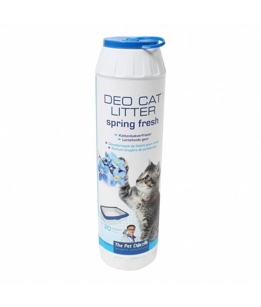 BSI Deo cat litter spring fresh 750 gram