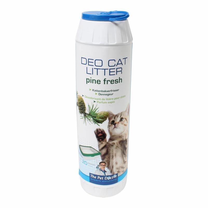 BSI Deo cat litter pine fresh 750 gram