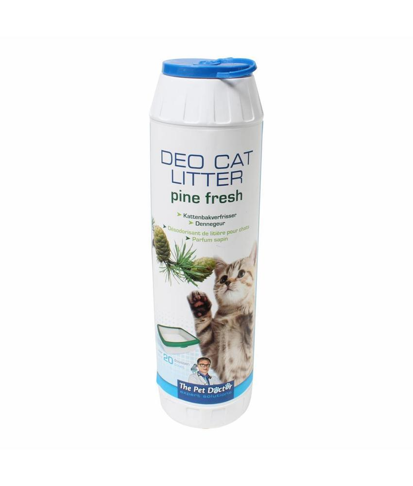 BSI Deo cat litter pine fresh 750 gram
