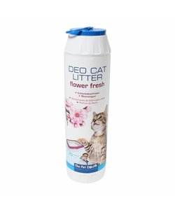 Deo cat litter flower fresh 750 gram