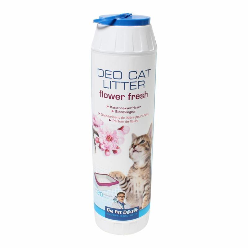 BSI Deo cat litter flower fresh 750 gram