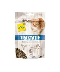 traktatie voor katten