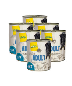 VitaalVlees Hond Adult Care 6x800 gram (tray)