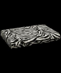 Orthopedisch kattenbed 'zebra' 45x55 cm