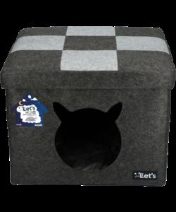 kattenverblijf Kubus 50x45 cm