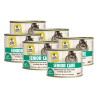 kattenvoeding Senior 6x200 gram