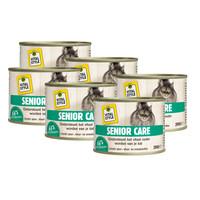 kattenvoeding Senior Care 6x200 gram