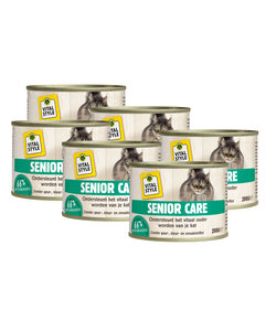 kattenvoeding Senior Care 6x200 gram