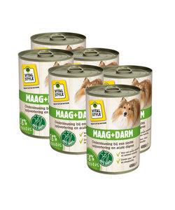 Maag en Darm hondenvoeding blik 6x400 gram