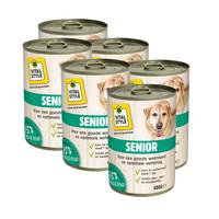 Senior hondenvoeding blik 6x400 gram