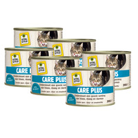 kattenvoeding Care Plus 6x200 gram