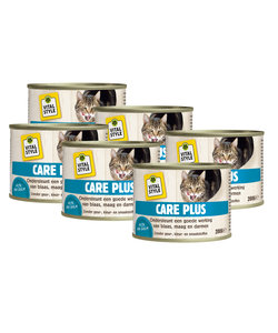 kattenvoeding Care Plus 6x200 gram
