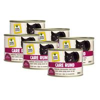 kattenvoeding Rund 6x200 gram