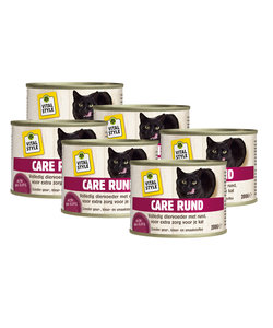 kattenvoeding Care rund 6x200 gram