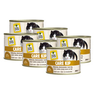kattenvoeding Care kip 6x200 gram