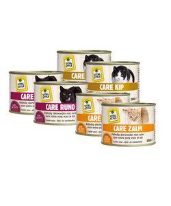kattenvoeding natvoer proefpakket