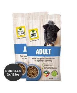 Adult hondenbrokken 2x12 kg