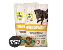 Overgewicht hondenbrokken 2x12 kg (duopack) | Aanbieding