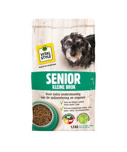 Senior hondenbrokken kleine hond 1.5 kg
