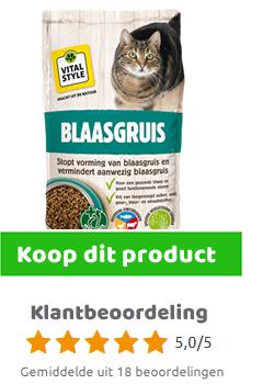Ecostyle Blaasgruis kattenbrokken 4 kg
