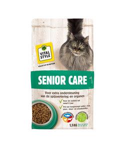 Senior kattenbrokken 1,5 kg