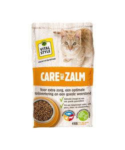 Zalm kattenbrokken 4 kg