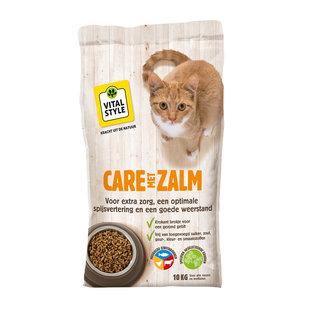 Zalm kattenbrokken 10 kg
