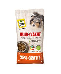 Huid&Vacht hondenbrokken 12+3 kg