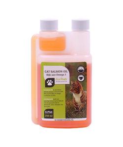 visolie zalm Premium voor katten 250 ml