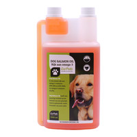 visolie zalm Premium voor honden 1000 ml