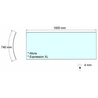 Alisun Acrylplaat Alisun Allura / Expression XL Bank