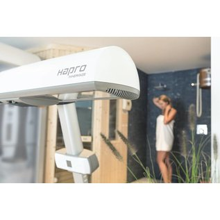 Hapro The newest model Hapro Innergize HP8580 Sunmobile with UV and infrared lamps
